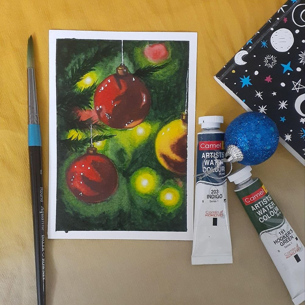 Countdown to Christmas with 24 Beautiful Paintings - image 8 - student project