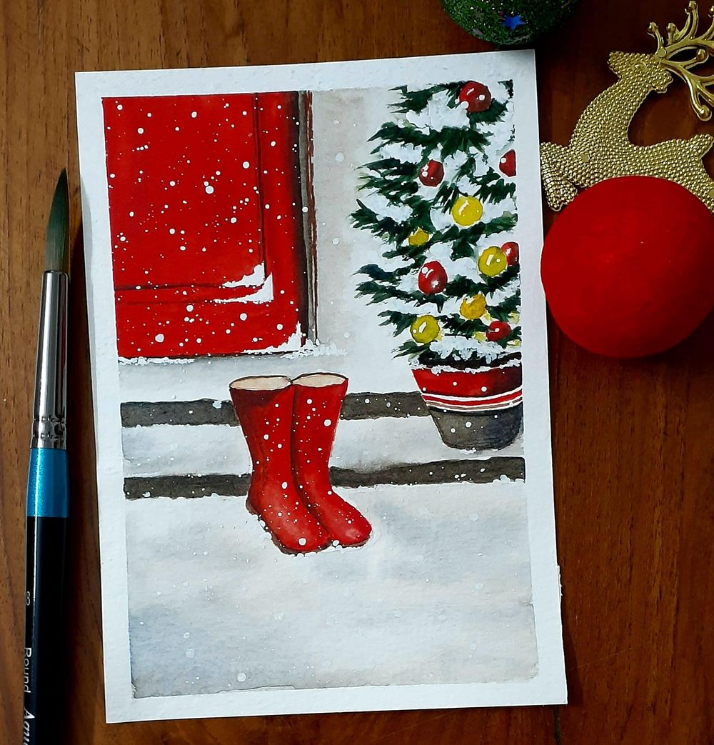 Countdown to Christmas with 24 Beautiful Paintings - image 10 - student project