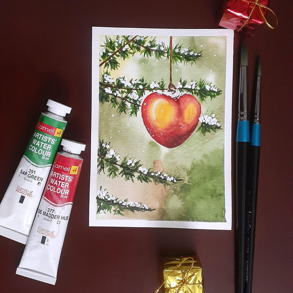 Countdown to Christmas with 24 Beautiful Paintings - image 7 - student project