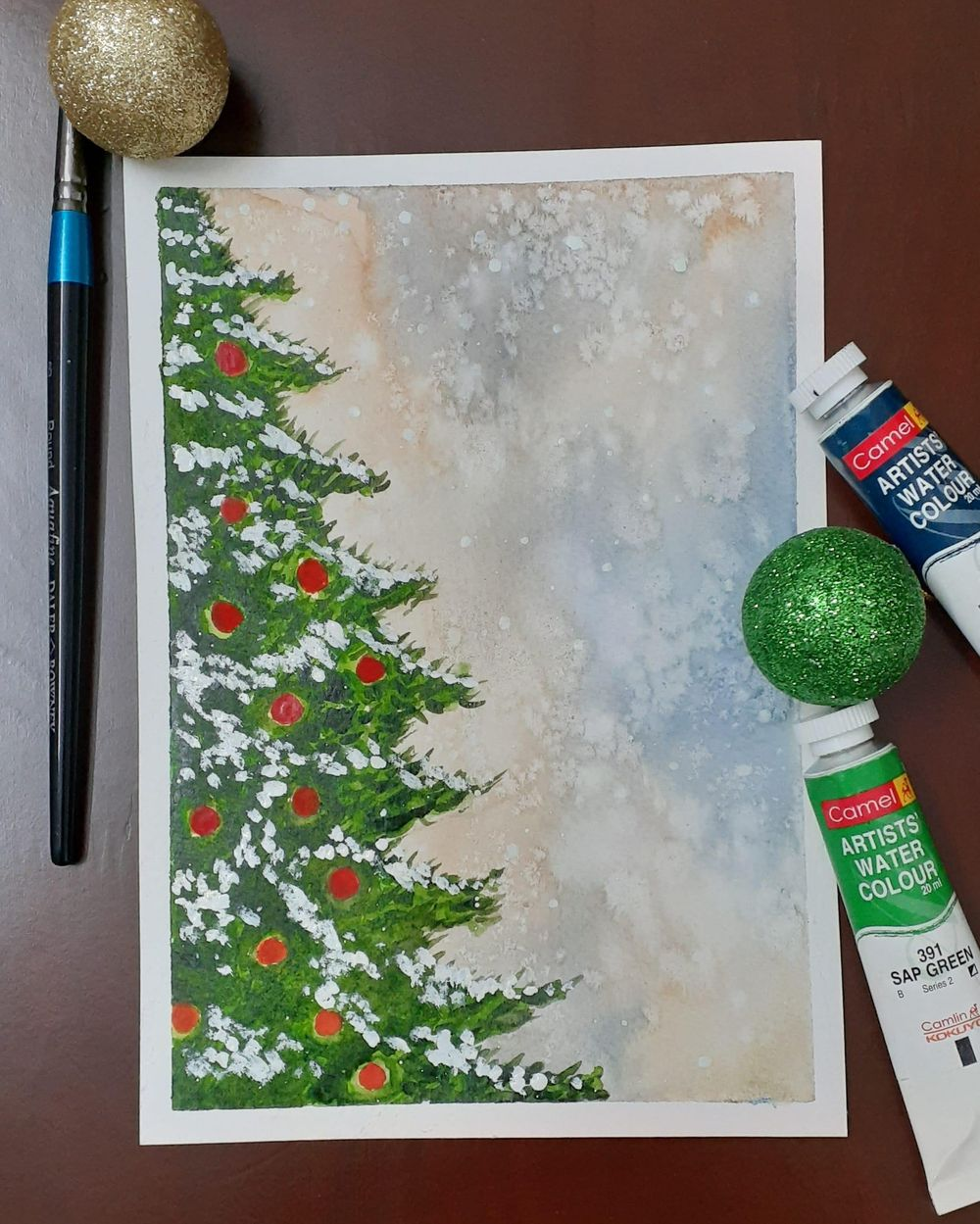 Countdown to Christmas with 24 Beautiful Paintings - image 6 - student project