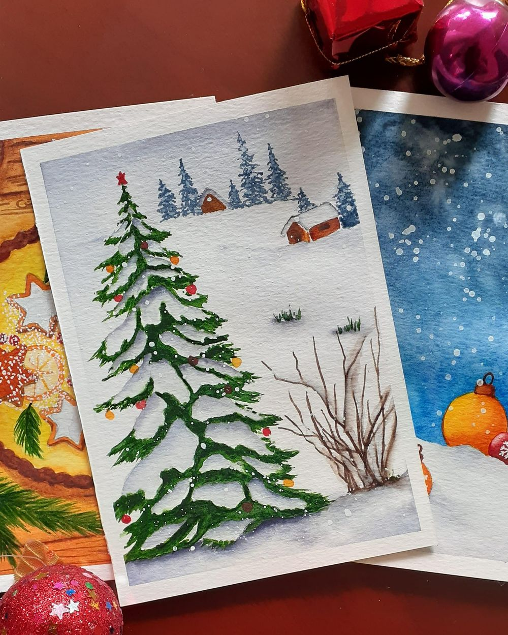 Countdown to Christmas with 24 Beautiful Paintings - image 4 - student project