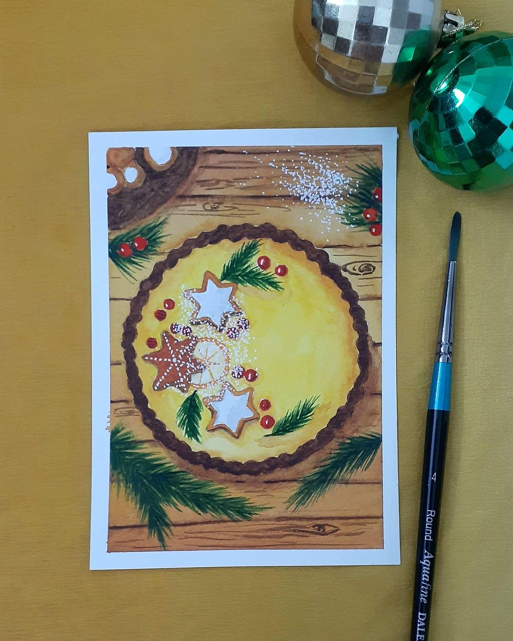 Countdown to Christmas with 24 Beautiful Paintings - image 15 - student project