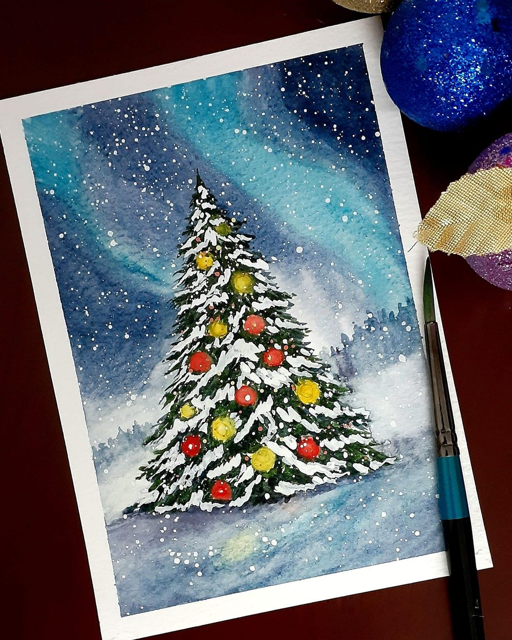 Countdown to Christmas with 24 Beautiful Paintings - image 2 - student project