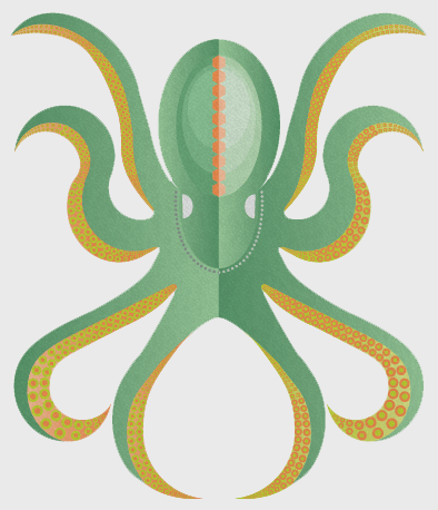 Octopus Vector - image 1 - student project