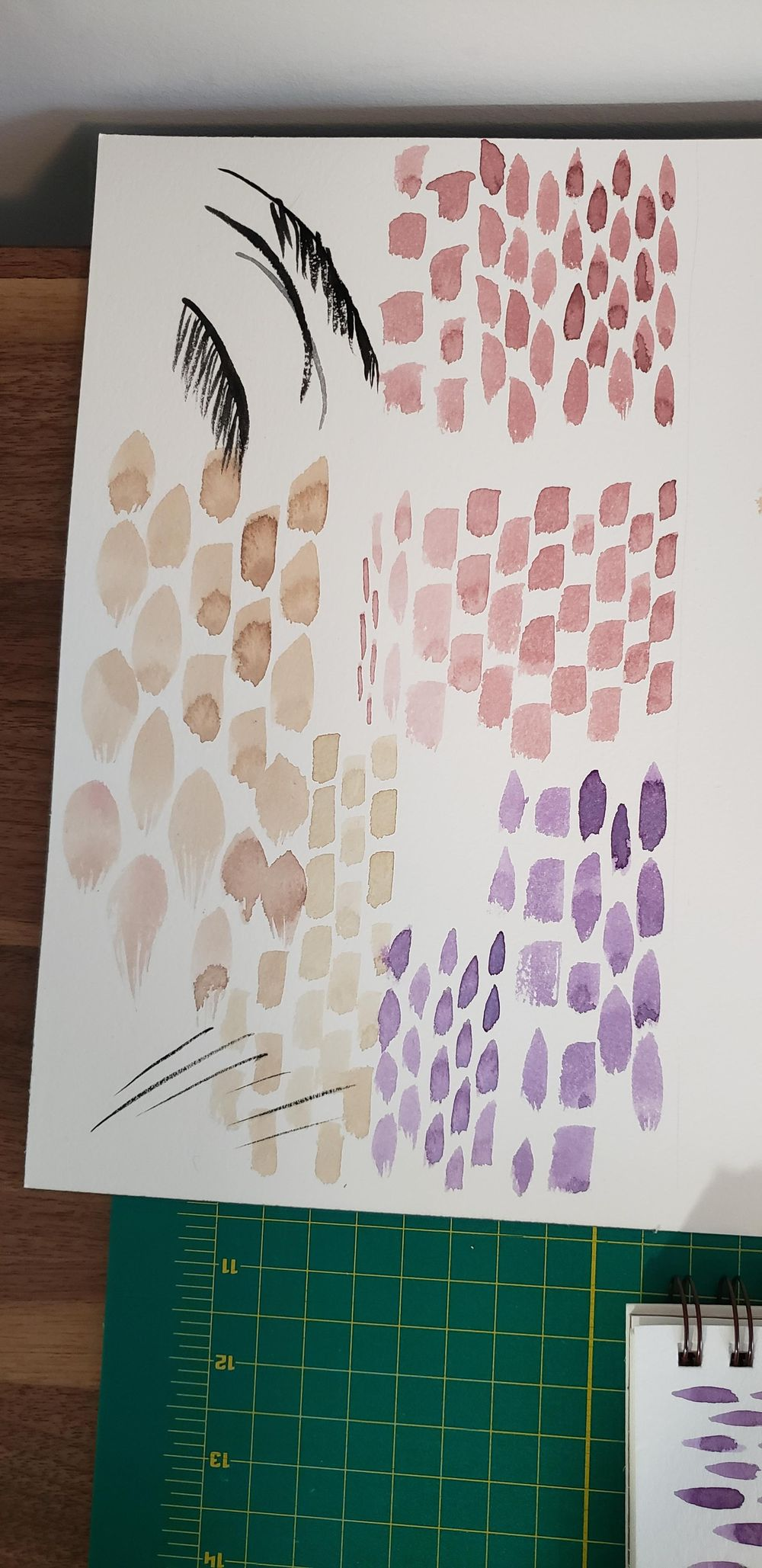 14 watercolor workouts - image 2 - student project