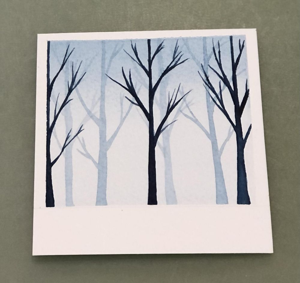 Relaxing Watercolour Projects for Beginners: Simple Skies & Silhouettes - image 2 - student project
