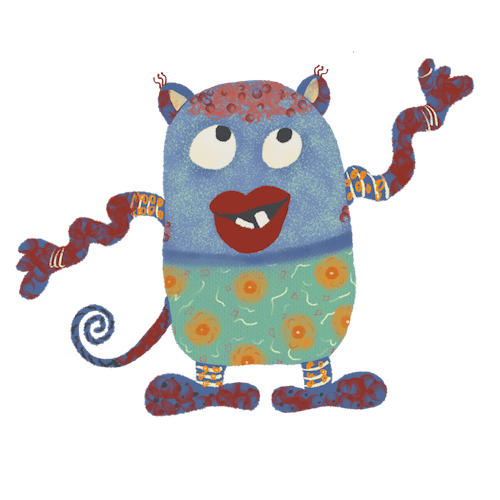 Bliss' Monster - image 1 - student project