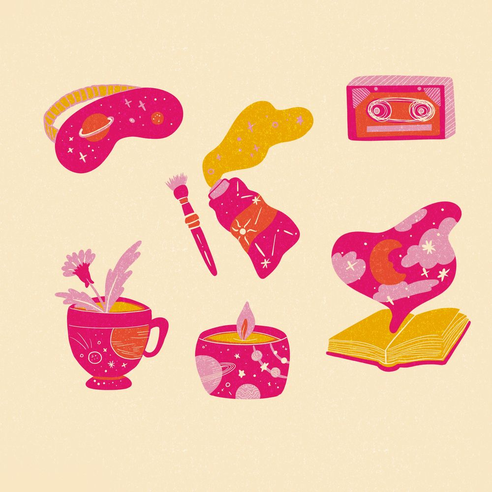 Limited Pallette Illustration - image 4 - student project