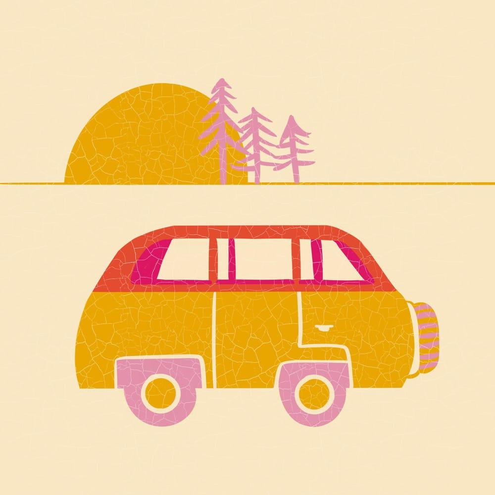 Limited Pallette Illustration - image 2 - student project