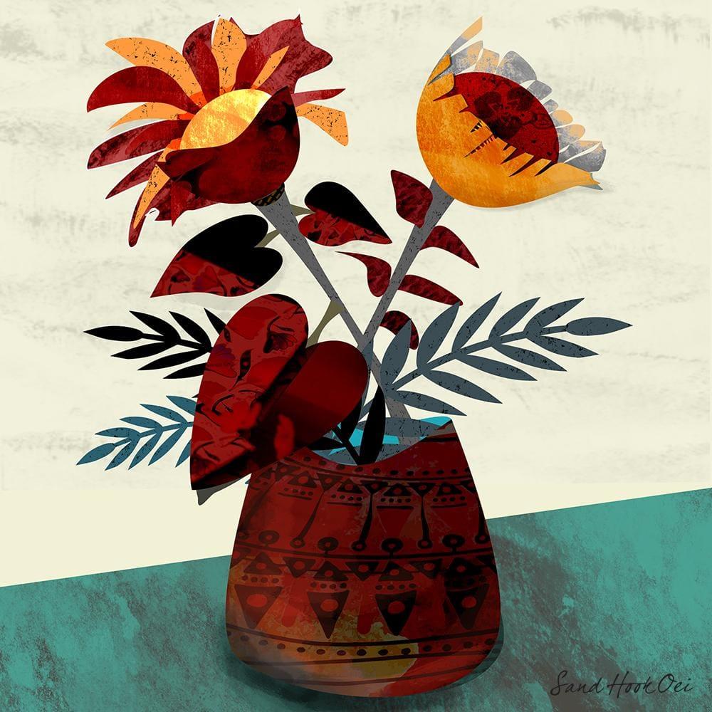 Textured Florals -Affinity Designer - image 2 - student project