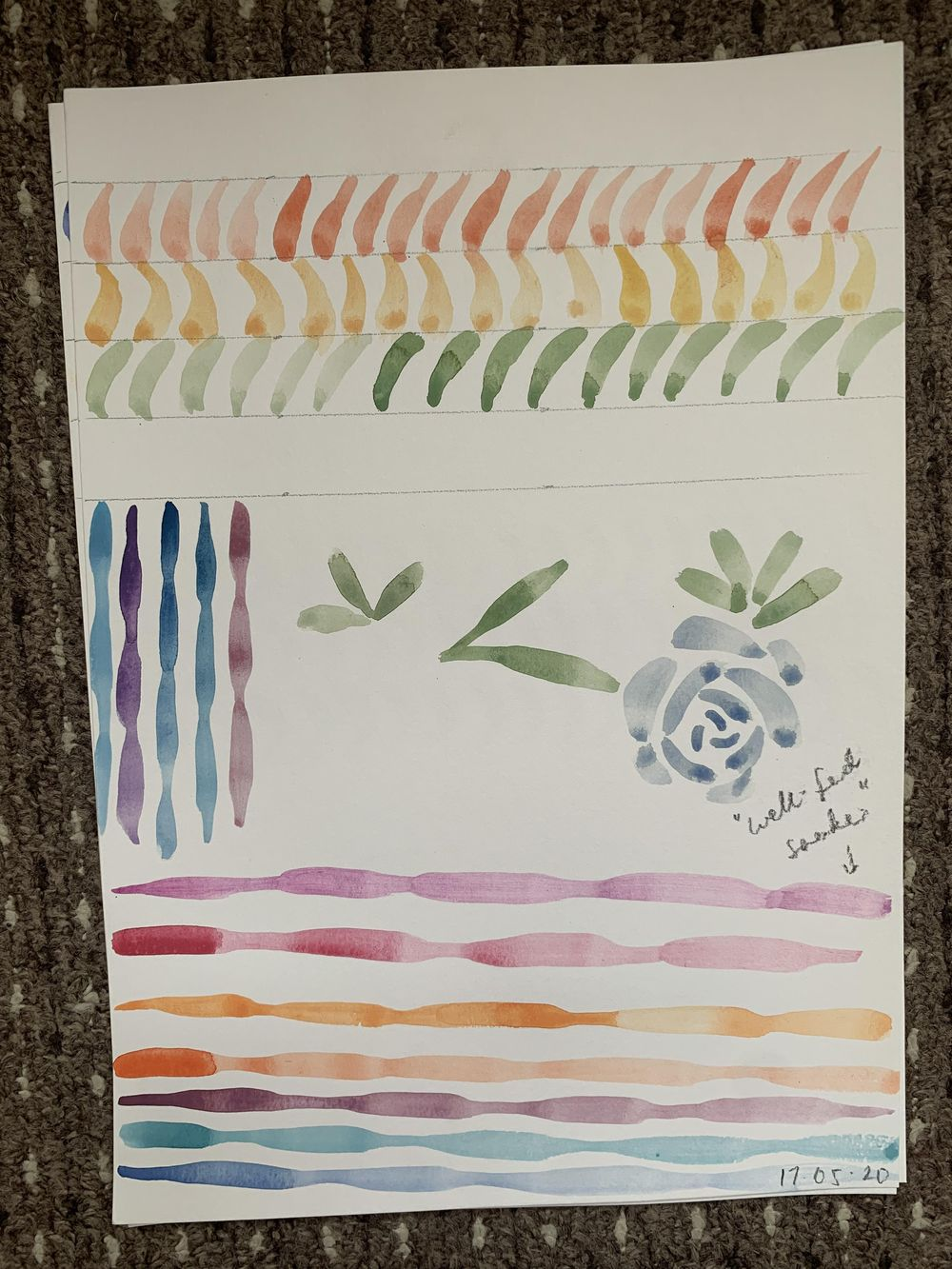 Watercolour Drills as a beginner! - image 11 - student project