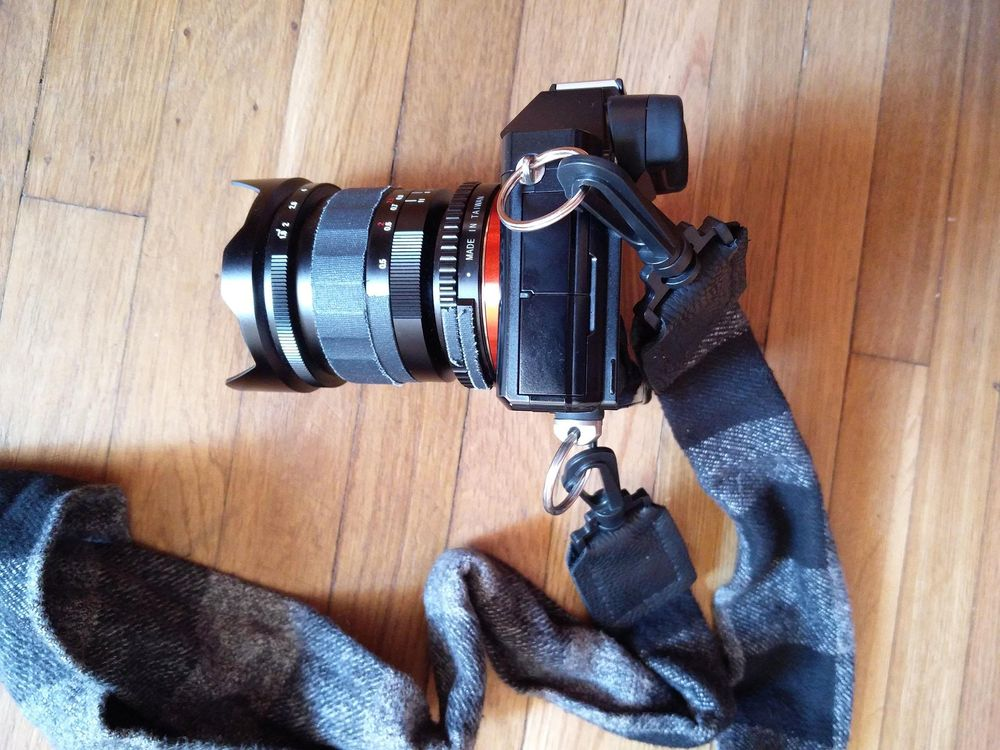 Plaid Flannel Strap for Sony a7S - image 4 - student project