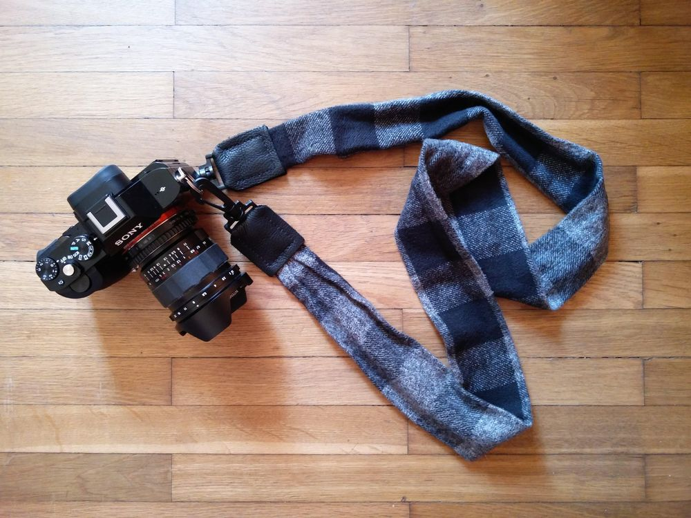 Plaid Flannel Strap for Sony a7S - image 1 - student project
