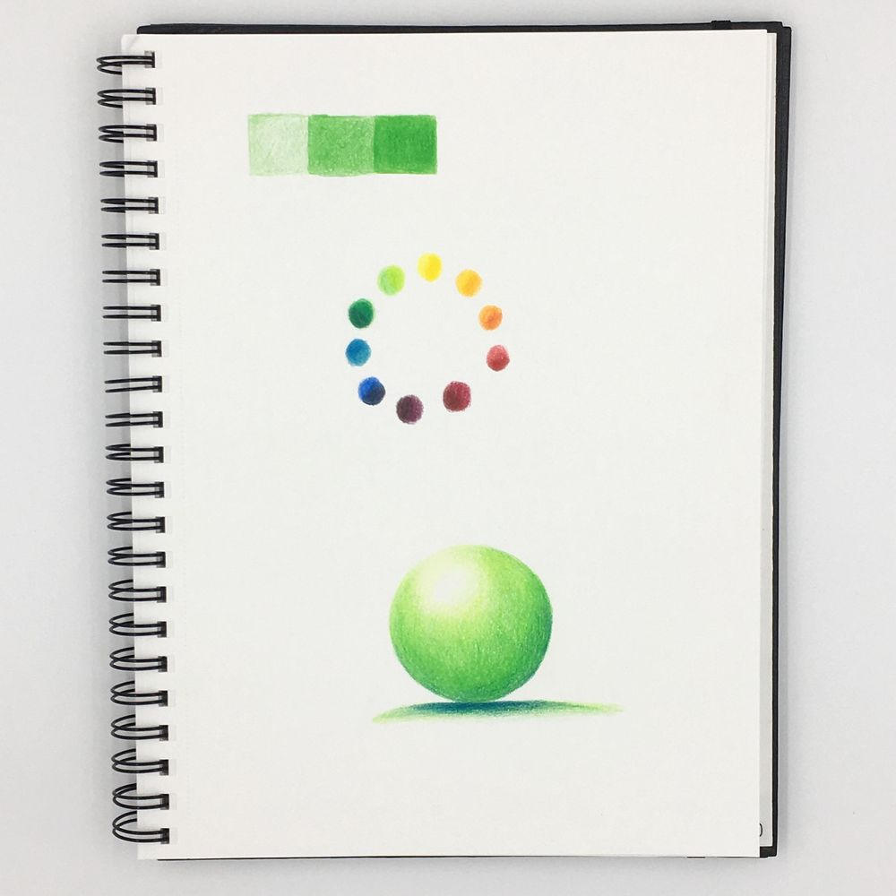 Drawing with Colored Pencils - image 1 - student project