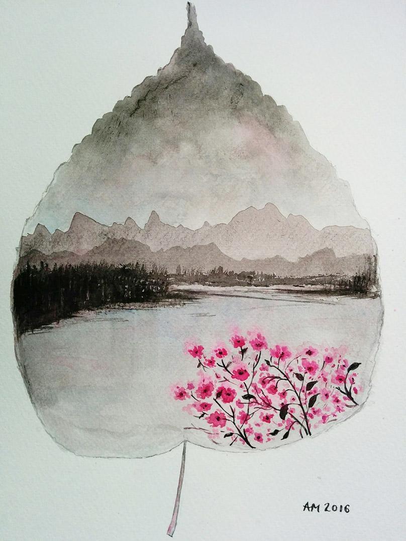 Leaf Landscape - image 2 - student project