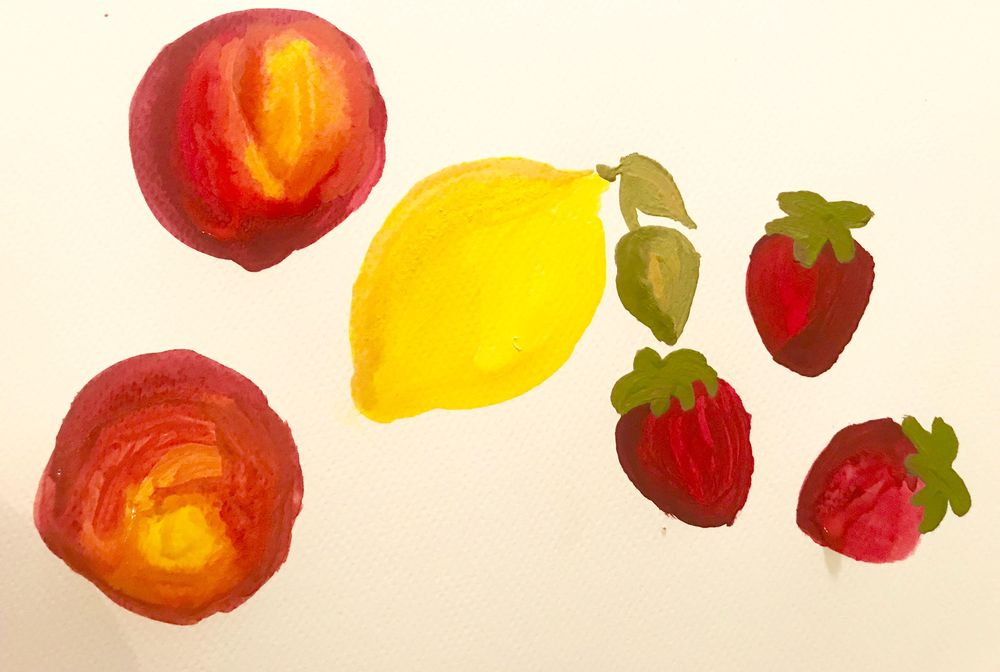 Leah Goren's Learn to Paint with Gouache - image 4 - student project