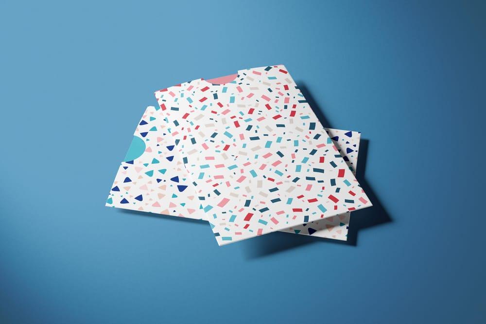 Fabric and gift bag mockups - image 1 - student project