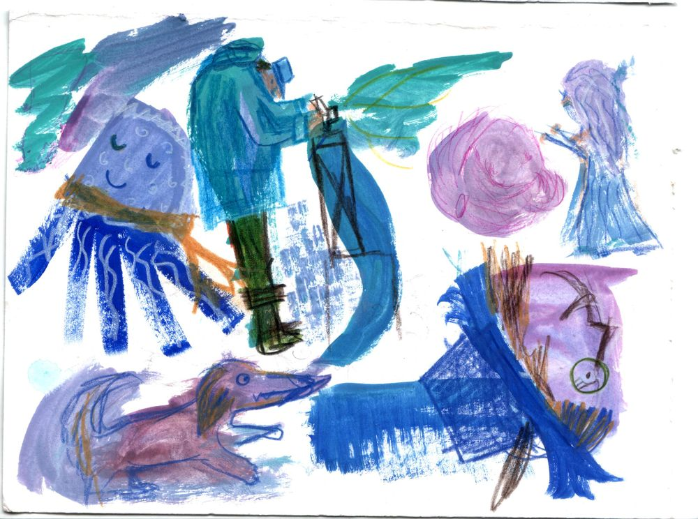 Gouache Characters - image 3 - student project