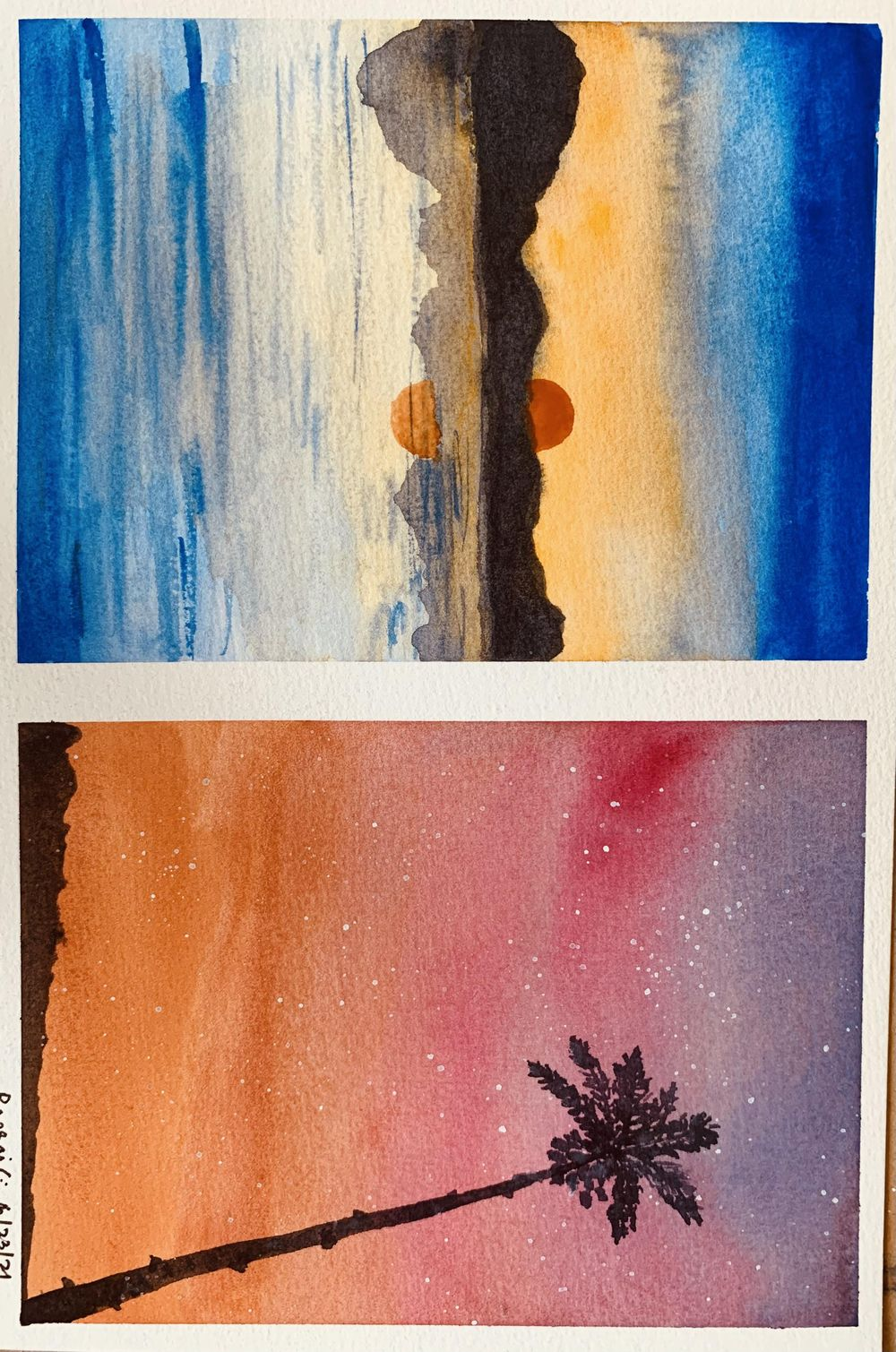 6 easy landscapes - image 2 - student project