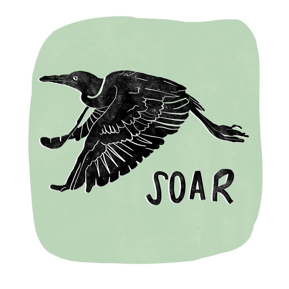 Bird Print - image 1 - student project