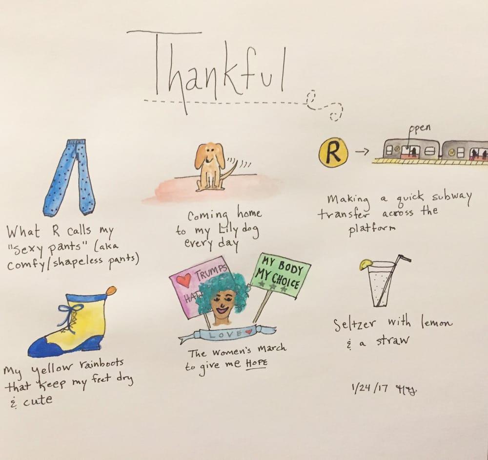 Thankful list! - image 1 - student project