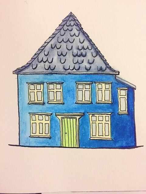 Blue House from Bergen, Norway - image 2 - student project