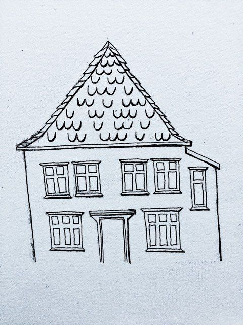 Blue House from Bergen, Norway - image 1 - student project
