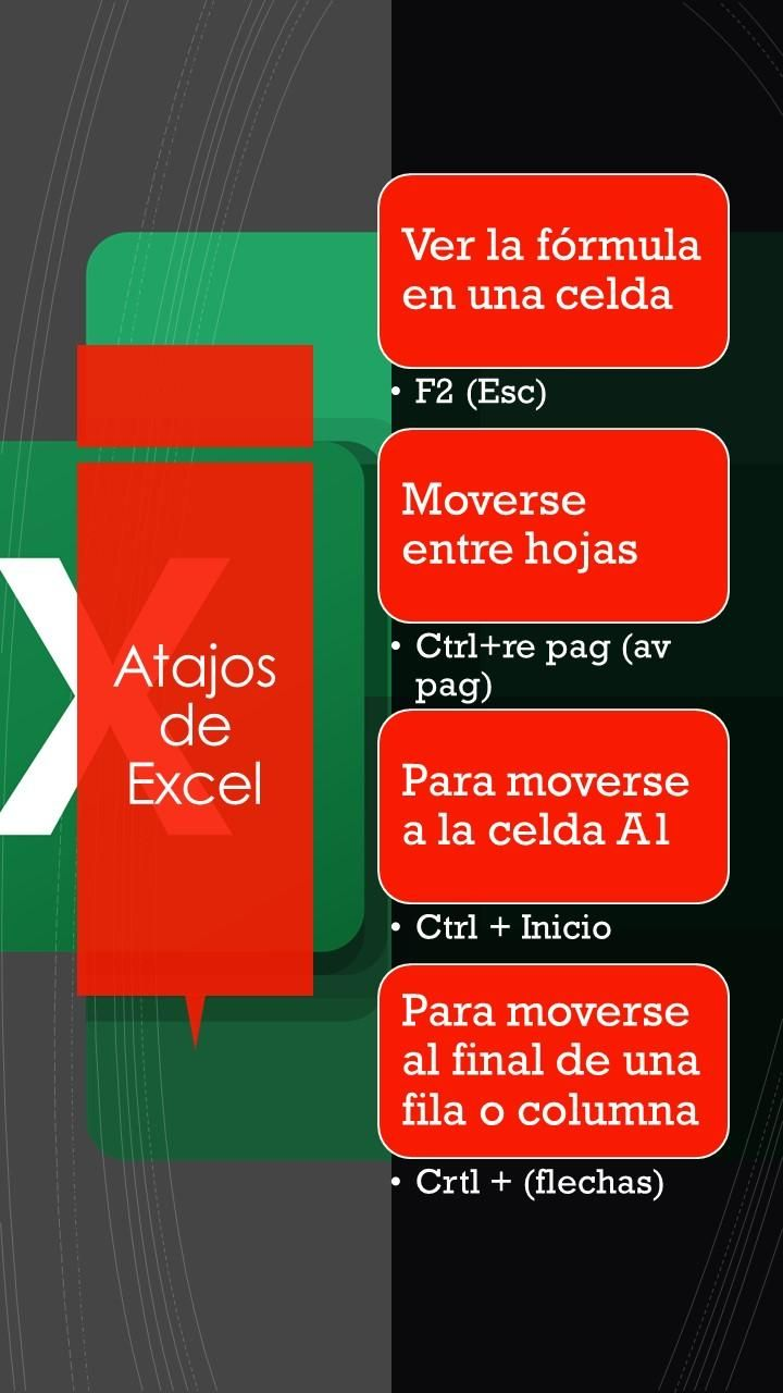 Keyboard shorcuts Excel-Windows - image 1 - student project