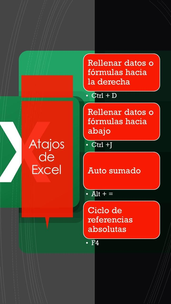 Keyboard shorcuts Excel-Windows - image 5 - student project