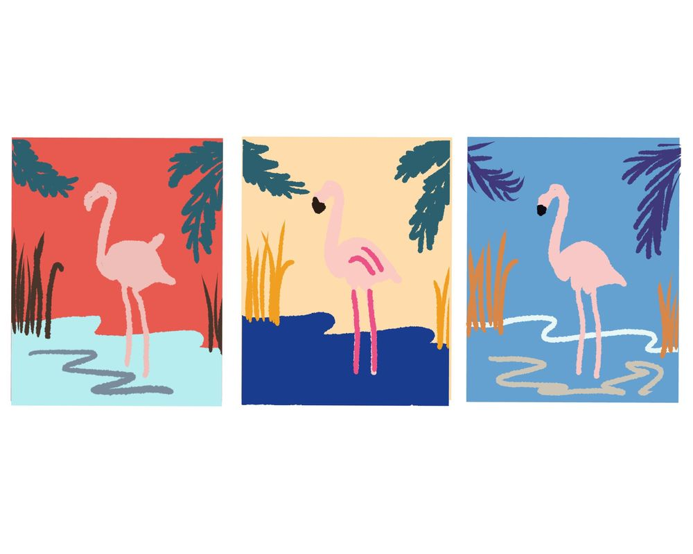 Pink Flamingo - image 1 - student project