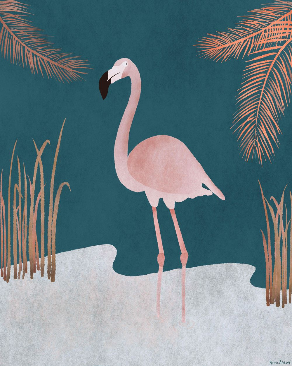 Pink Flamingo - image 3 - student project