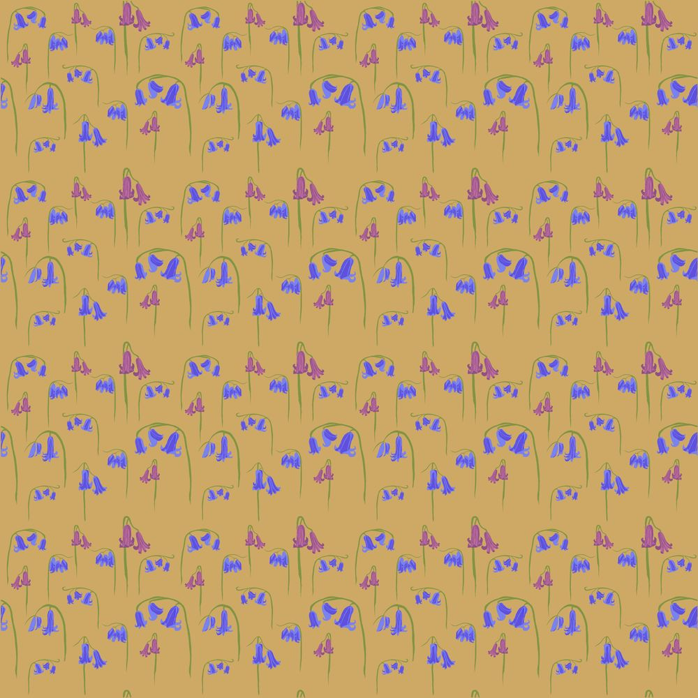 repeating floral pattern - image 1 - student project
