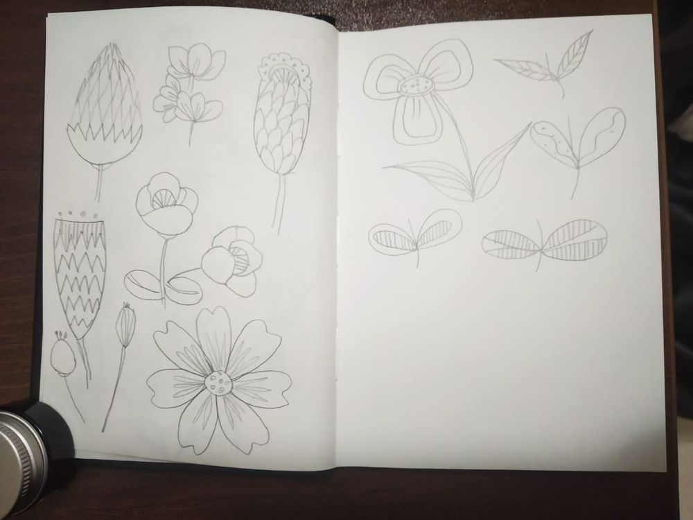 Floral Layout - image 4 - student project