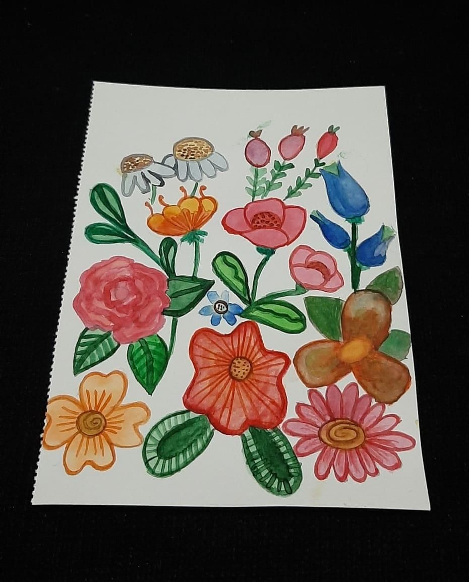Floral Layout - image 3 - student project