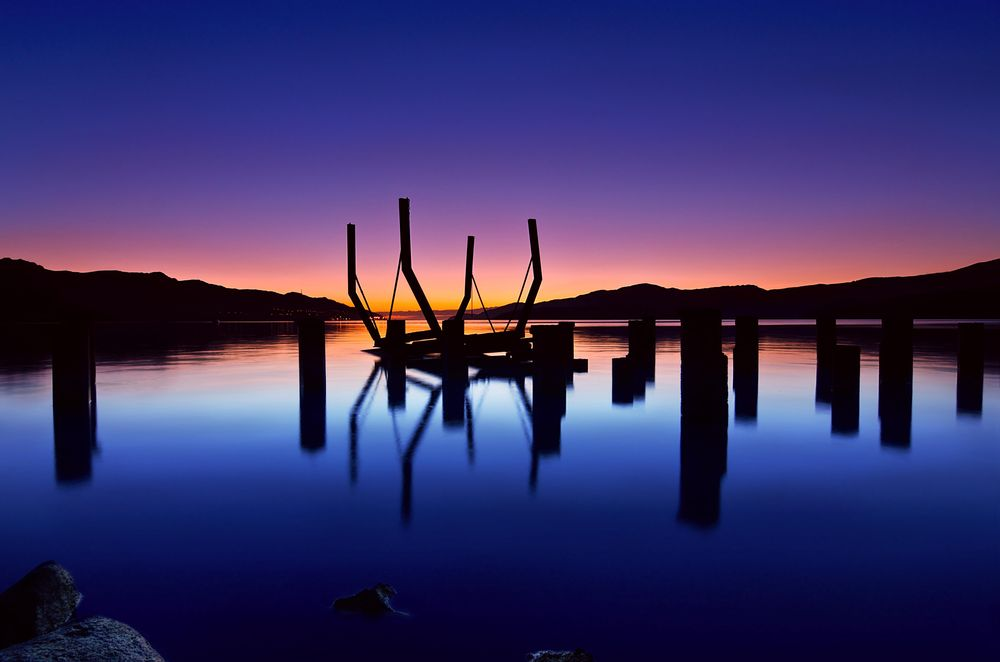 New Zealand landscapes at twilight - image 1 - student project