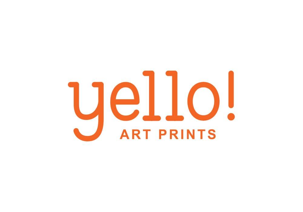 Yello! Art Prints Logotype - image 1 - student project