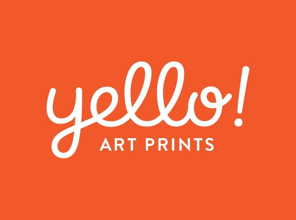 Yello! Art Prints Logotype - image 5 - student project