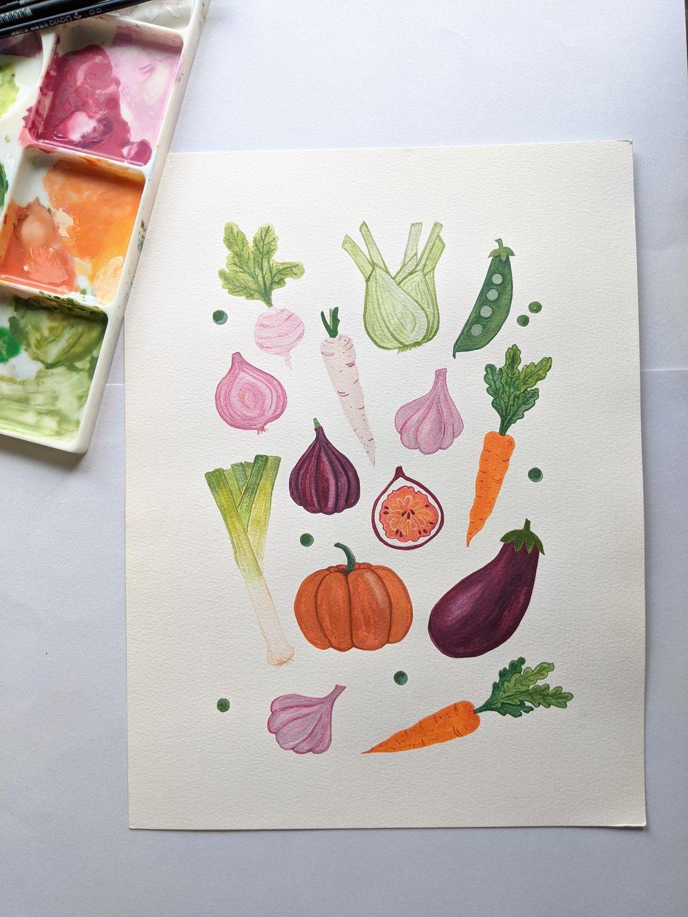 Veggie Harvest - image 1 - student project