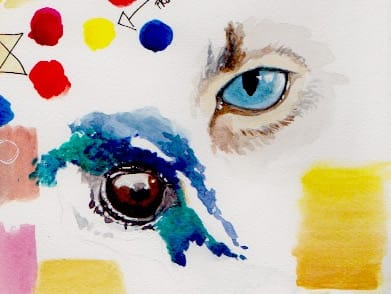Working on eyes. - image 2 - student project