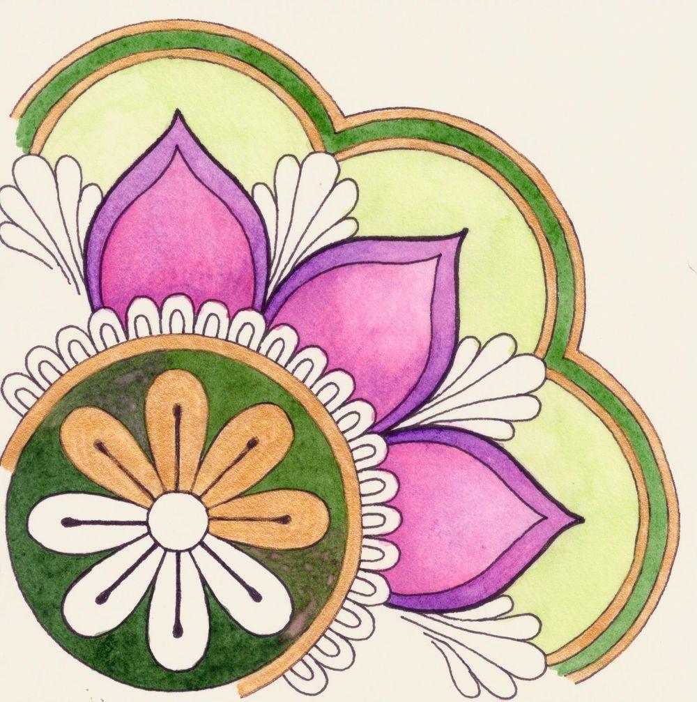 Spring Mandala - image 1 - student project