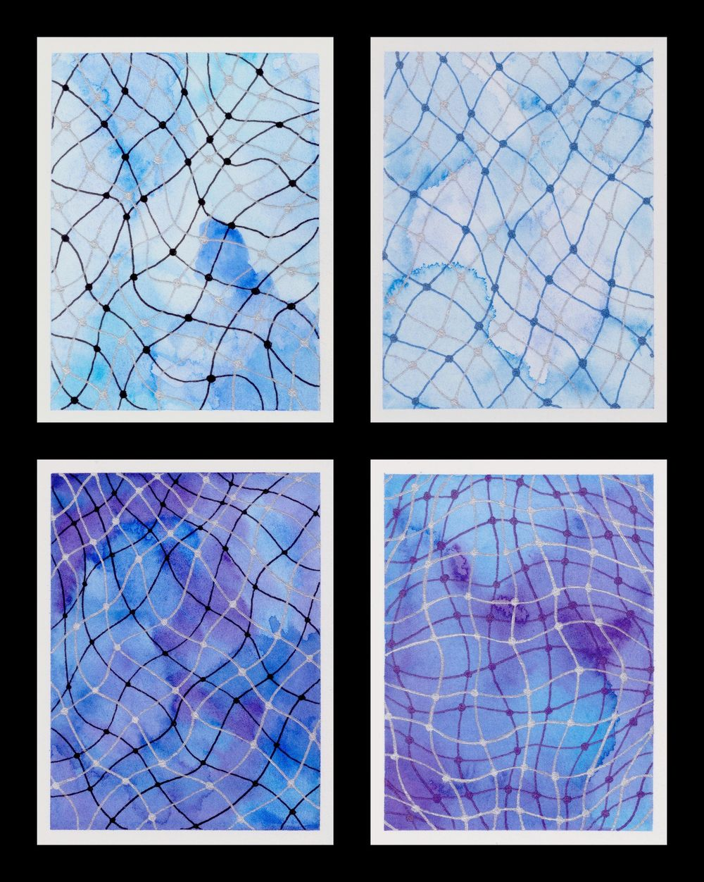 Doodle Net with Watercolour - image 1 - student project