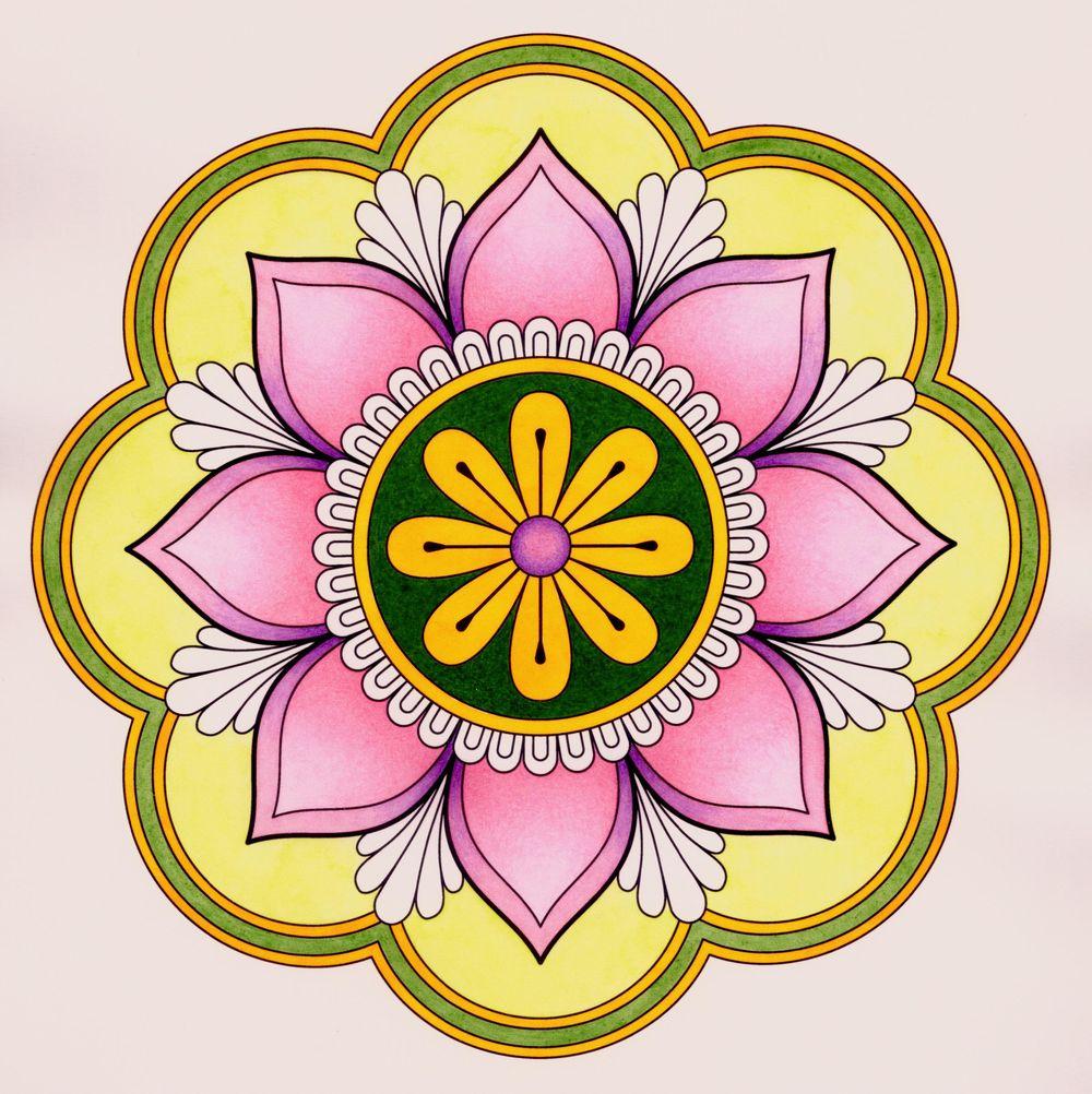 Spring Mandala - image 3 - student project