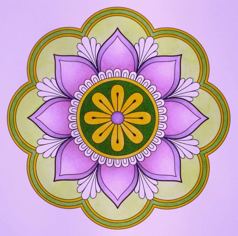Spring Mandala - image 4 - student project