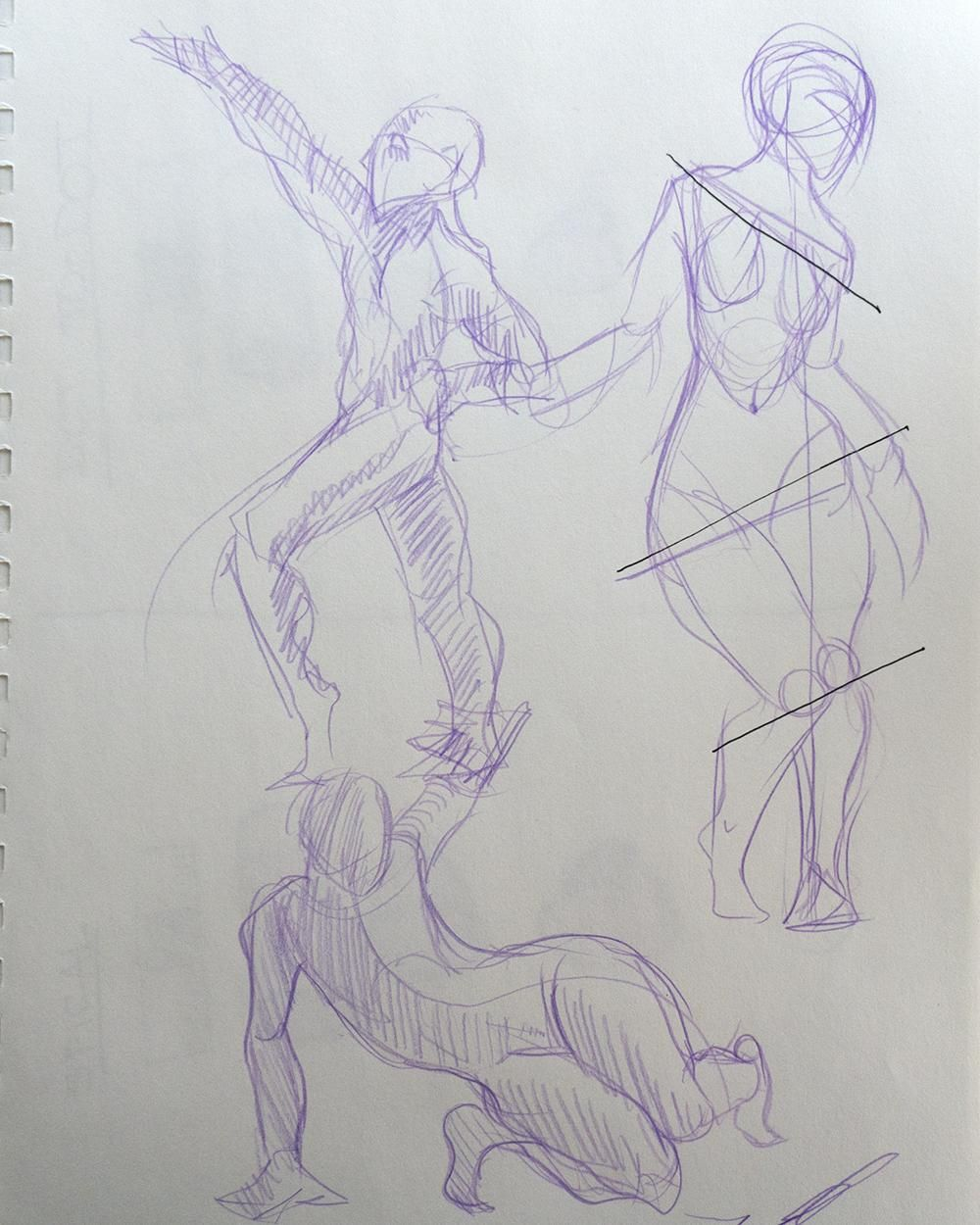 Figure Drawing - Sample Project! - image 3 - student project