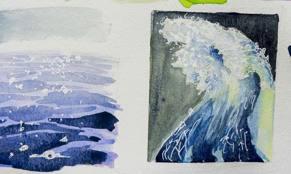 Watercolor... water!  - image 1 - student project
