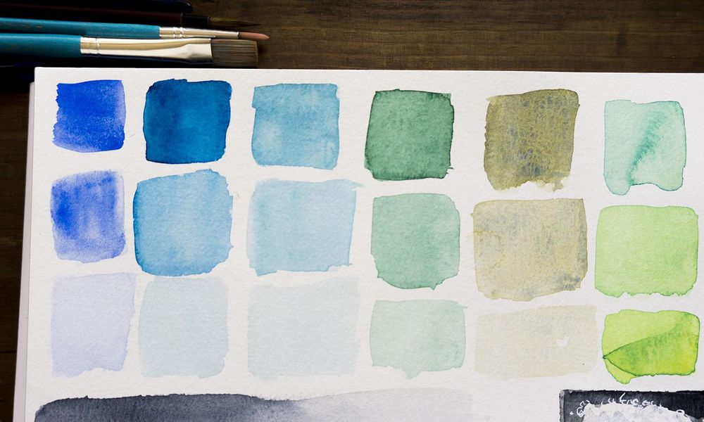 Watercolor... water!  - image 2 - student project