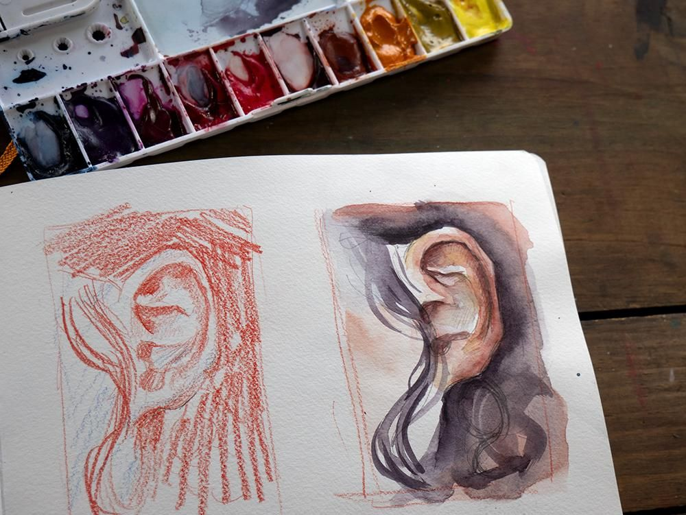 Sample Project - Sketchbook Exercises! - image 4 - student project