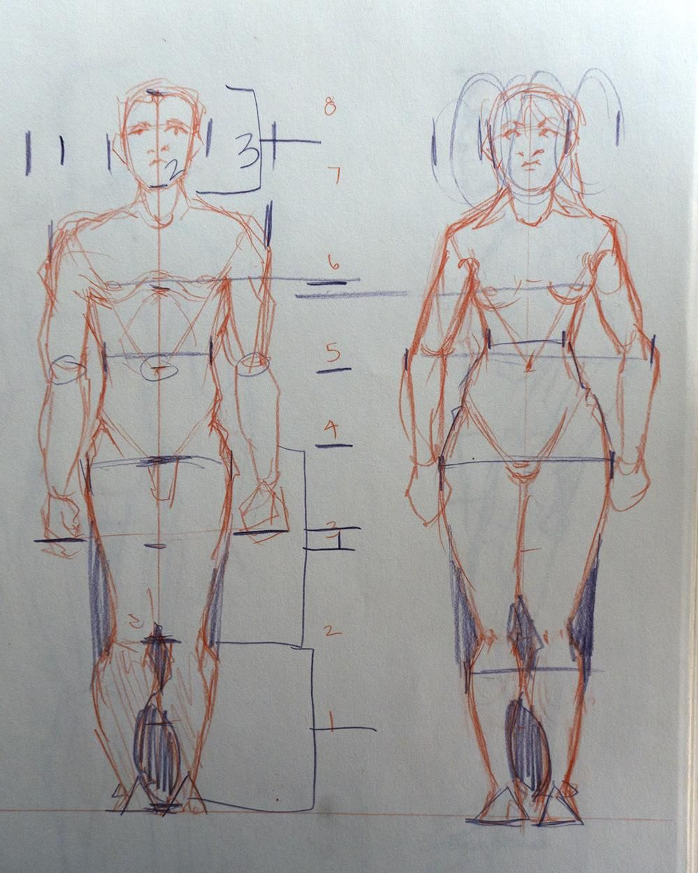 Figure Drawing - Sample Project! - image 1 - student project