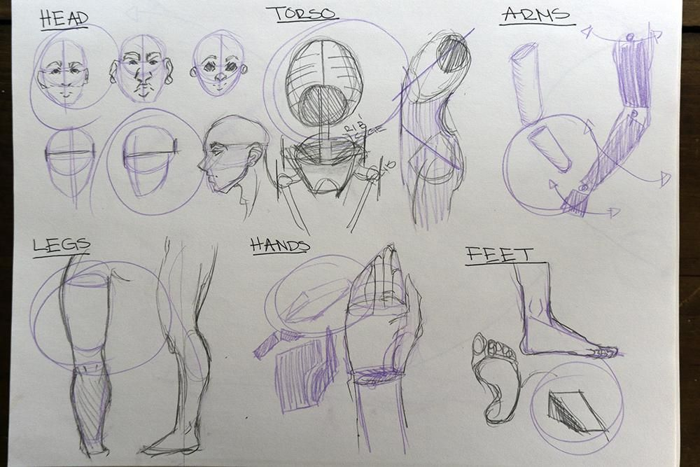 Figure Drawing - Sample Project! - image 2 - student project