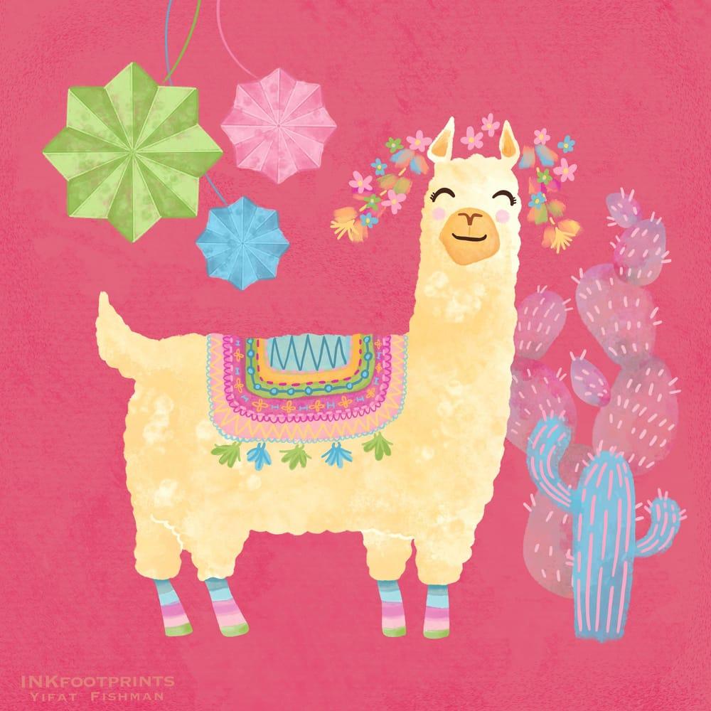 Llama Fiesta - image 2 - student project